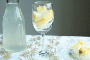 ハーブドリンクレシピ:カレンデュラ・レモネードアイスキューブ:工程5