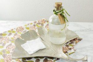 ローズマリーの化粧水の使い方