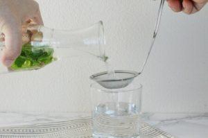 ミントティー水出しレシピ:工程4
