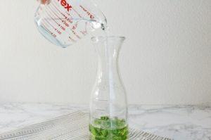 ミントティー水出しレシピ:工程2