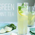 【ミントと緑茶で作る】おいしいアイスミントティーの作り方|モロッコ風ミントティーレシピ