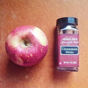 アップルシナモンシロップの作り方
