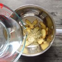レモングラスのジンジャーシロップの作り方1