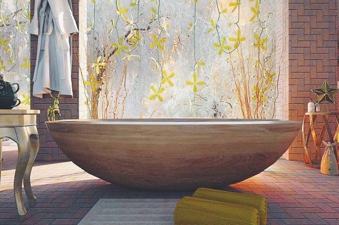 足湯の方法1:浴槽での足湯