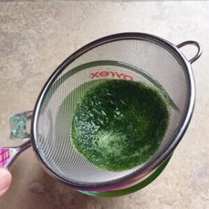 ミントシロップの作り方9
