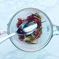 ローズマリーシロップの作り方3