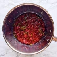 ローズマリーシロップの作り方2