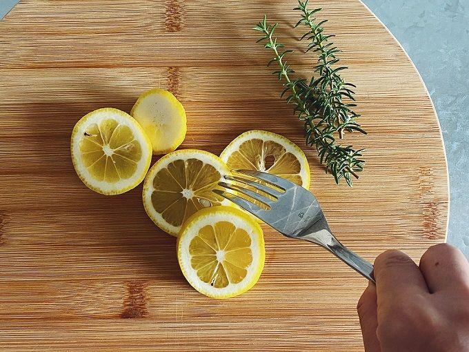 ローズマリー+レモン:つや出し・シミ取り