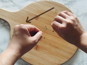 ローズマリーの葉の取り方2