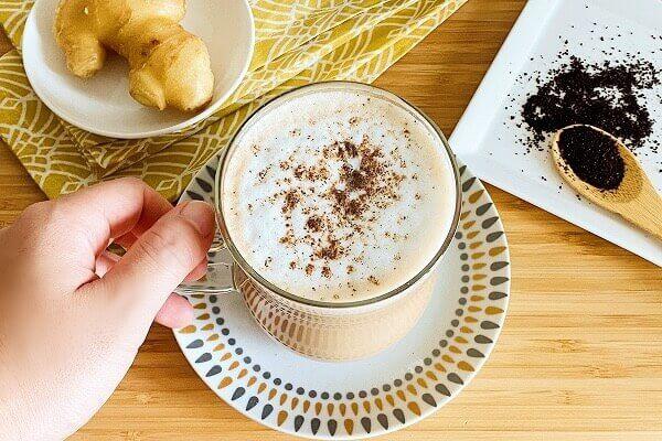 カプチーノ風ジンジャーコーヒーの作り方