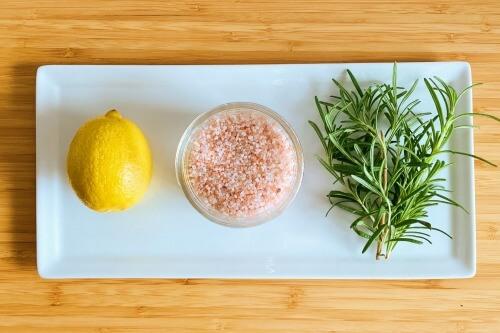 ローズマリーのレモンソルトの作り方