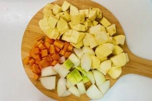 タイムとサツマイモのポタージュの作り方4