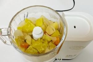 タイムとサツマイモのポタージュの作り方8