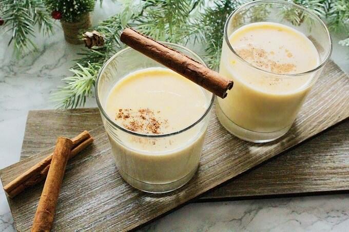 エッグノッグ レシピ|アイス・ホット・アルコール入り3つのエッグノッグの作り方