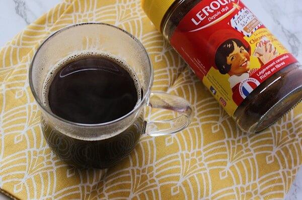 基本のチコリコーヒーの作り方(インスタントタイプ)