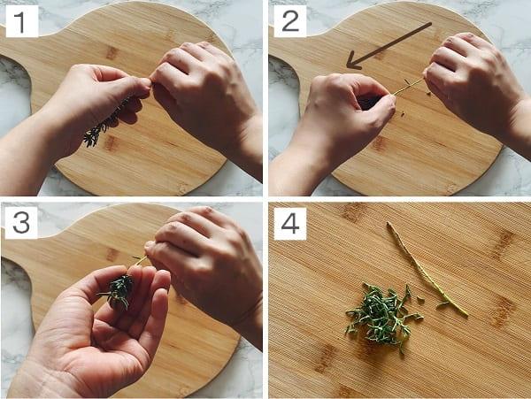 葉の取り方