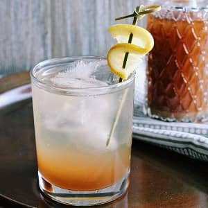 レモングラスのジンジャーシロップ